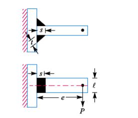 Welding Joint (Sambungan Las) - beban ekstrentis